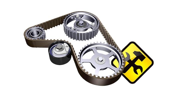 Диагностика и ремонт приводных ремней и роликов